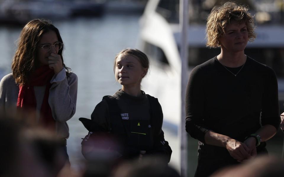 Greta Thunberg: A polémica menina do clima que o mar trouxe a Lisboa