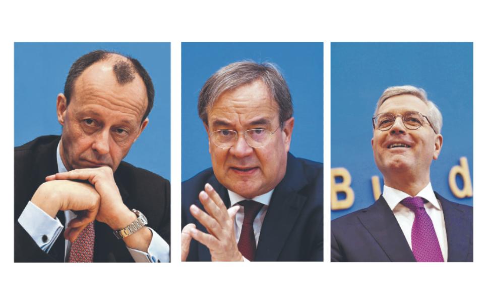 Alemanha: Os três homens que querem calçar os sapatos de Angela Merkel