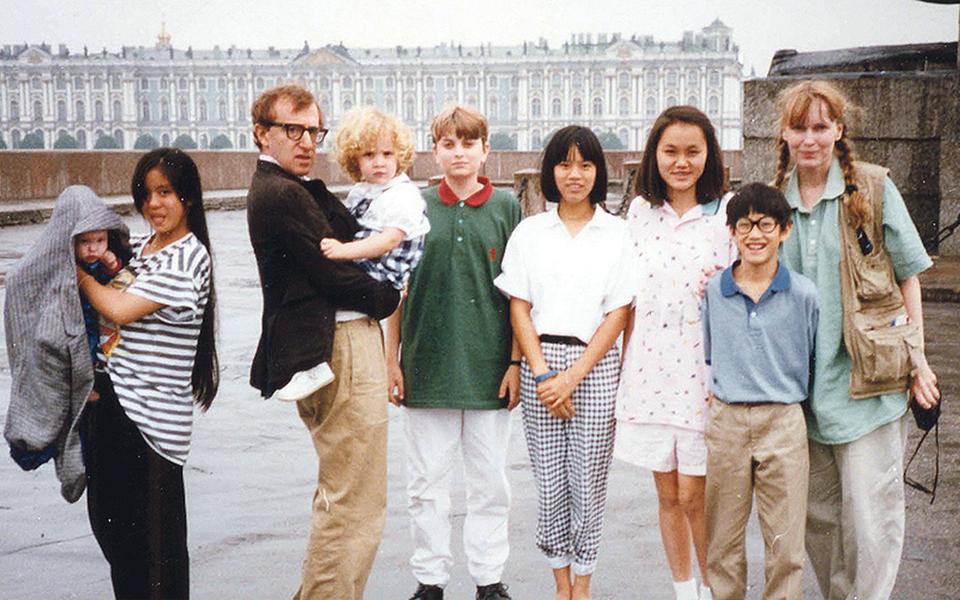 Allen v. farrow: Tragédia  da vida privada  de uma família  do cinema