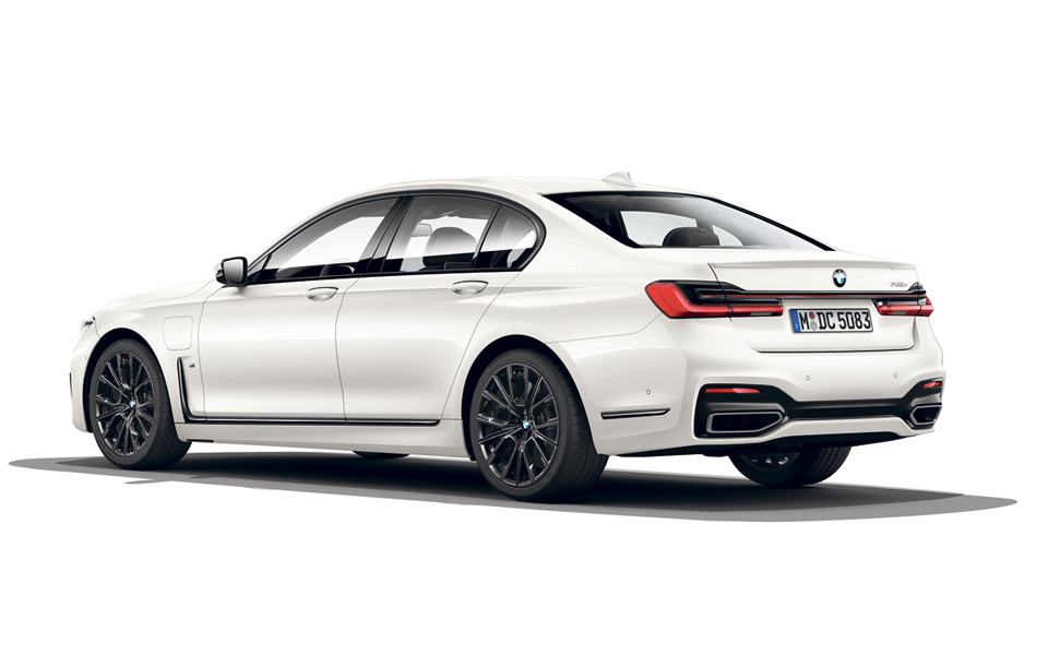 BMW 745e - Grande carro e grande motor