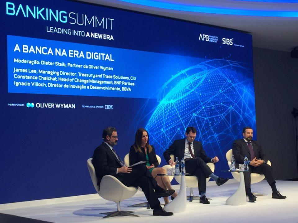 Bancos portugueses preocupados com a era digital