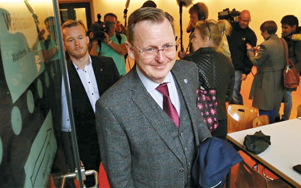 Bodo Ramelow - O presidente que fugiu da Alemanha Ocidental para a Alemanha de Leste