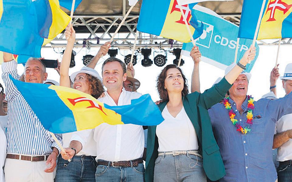 CDS fica com presidência da Assembleia  e pastas do Ambiente,  Economia e Transportes