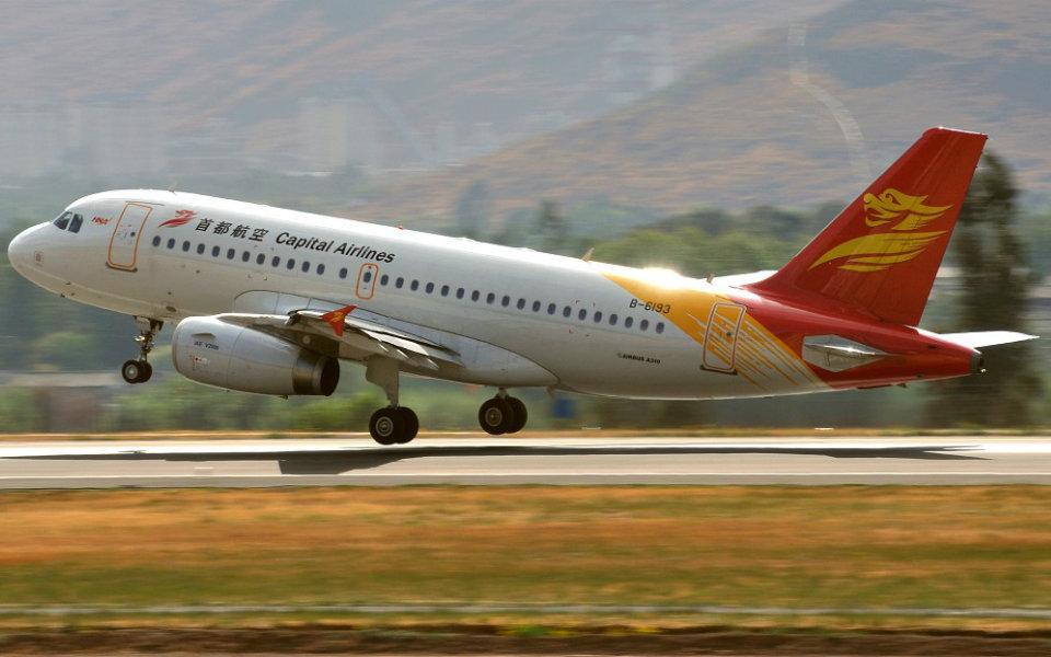 Retomada ligação aérea com a China