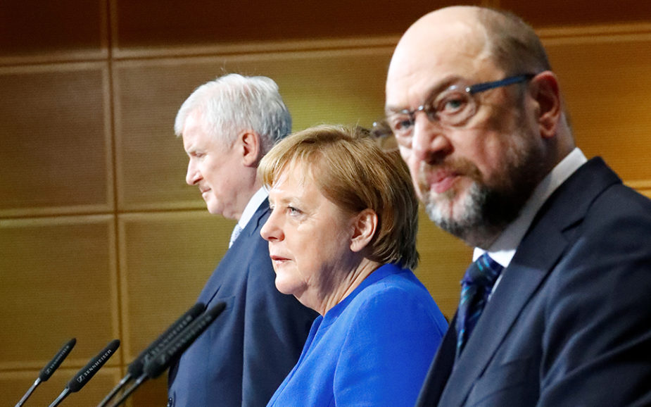 Grande Coligação alemã pode dar novo rumo à UE