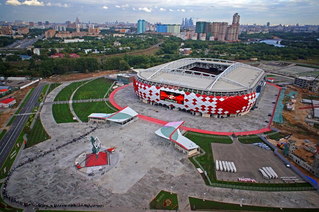 Em 2018, a festa do futebol é na Rússia