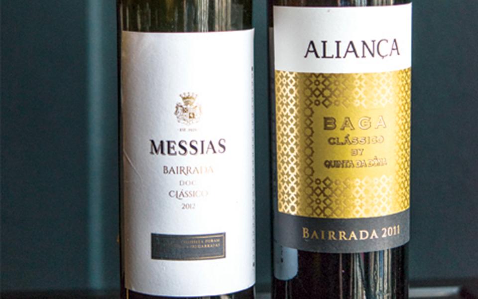 Messias branco 2012 e Aliança tinto 2011: Os novos clássicos da Bairrada