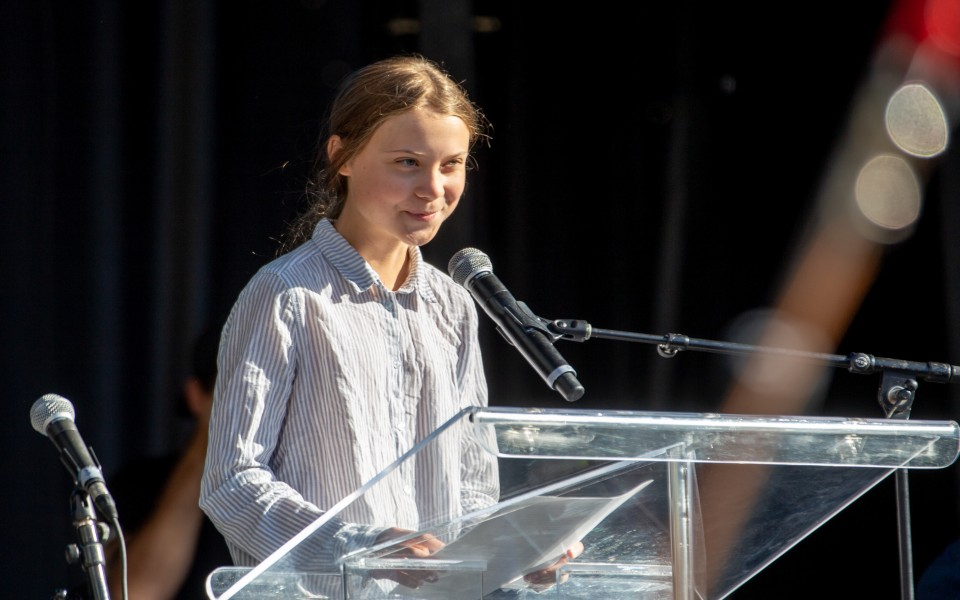 """DESAFIOS: """"Mandem a Greta para a China"""""""