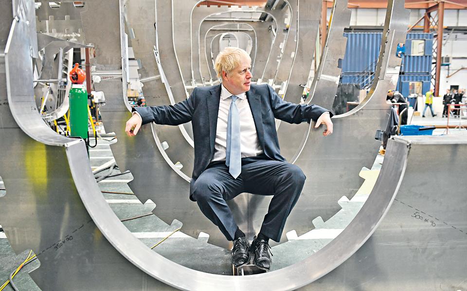Boris Johnson - De erro em erro até à enorme vitória final?