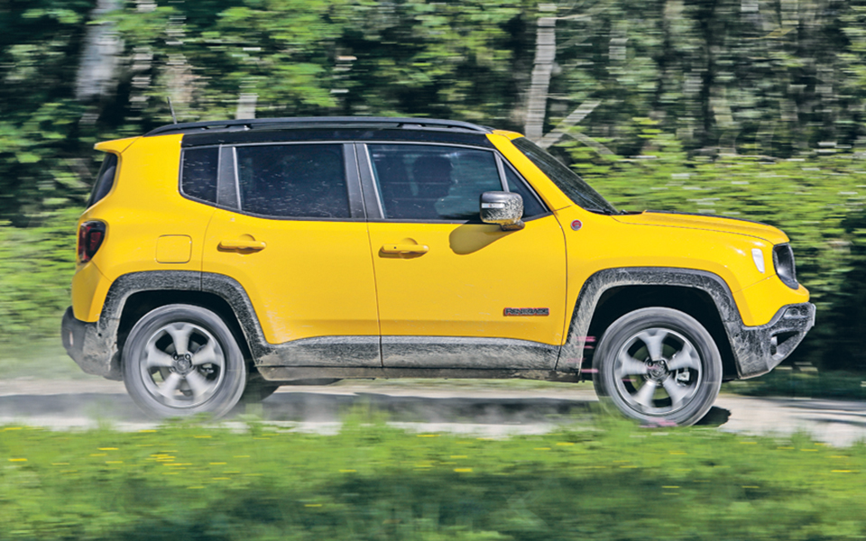 Jeep Renegade - 'Out of the box'  a todas as horas