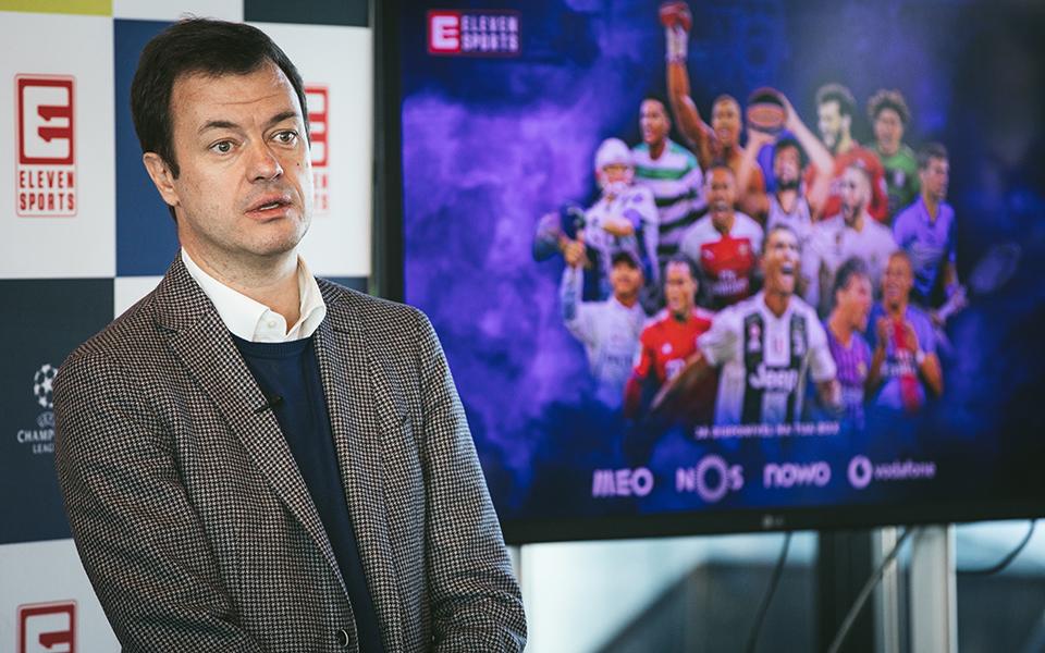 """Eleven Sports quer conteúdos """"mais próximos do consumidor português"""""""