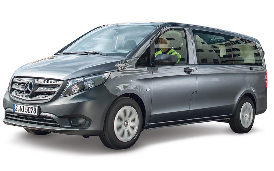 Mercedes-Benz Vito: Um furgão para 3 euro paletes