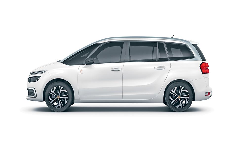 Citroën Grand C4 Space Tourer  Recuperar a história e dar-lhe leveza