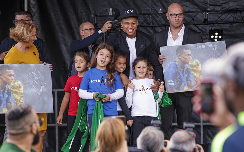 KYlian Mbappé Figura de proa da próxima geração de líderes