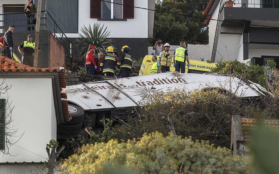 Desastre com autocarro na Madeira vitima turistas vindos da Alemanha