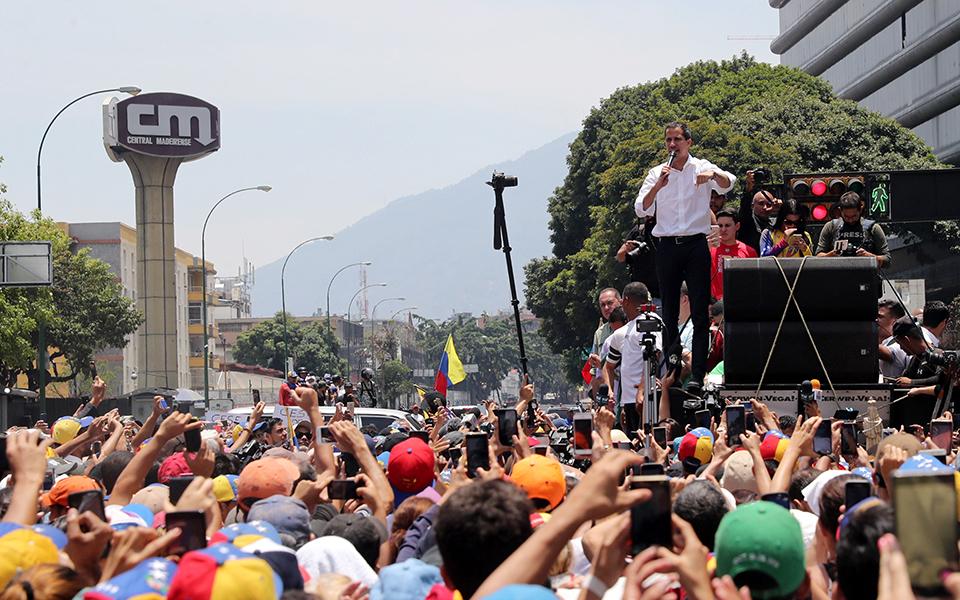 """Juan Guaidó voltou a fazer uma """"má avaliação"""""""
