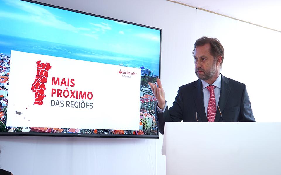 Santander aposta na manutenção da atual rede na Região