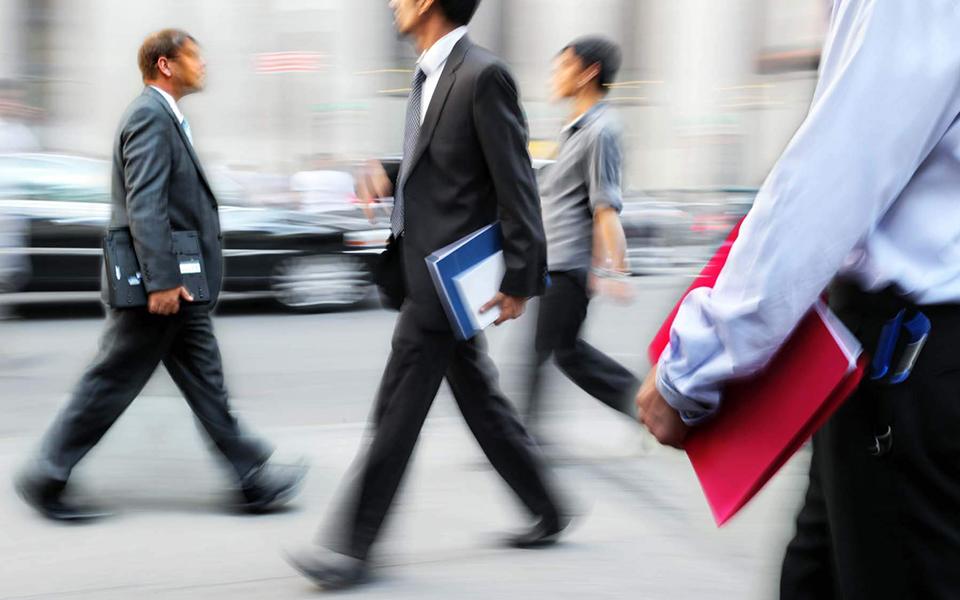 Executivos preveem receitas a crescer menos de 2%