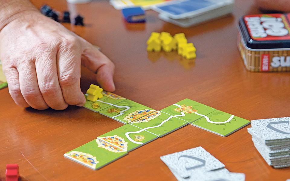 Jogos de tabuleiro Opções 'vintage' na era digital