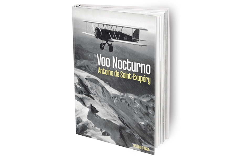 Voo Nocturno: Pela pena do aviador-jornalista