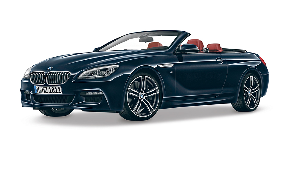 BMW 640d cabrio. Um descapotável  que anda à chuva