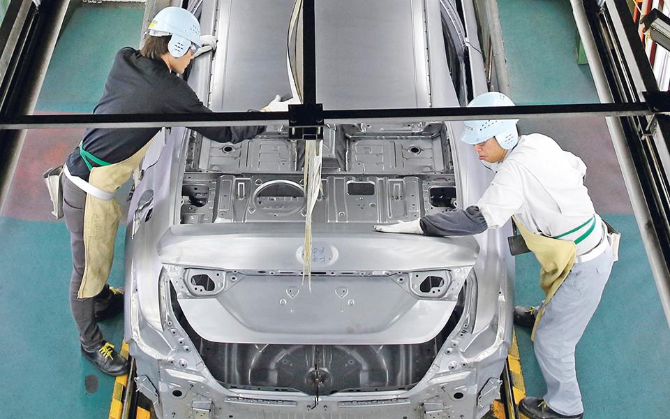 Produção de automóveis atingiu valor recorde em 2017