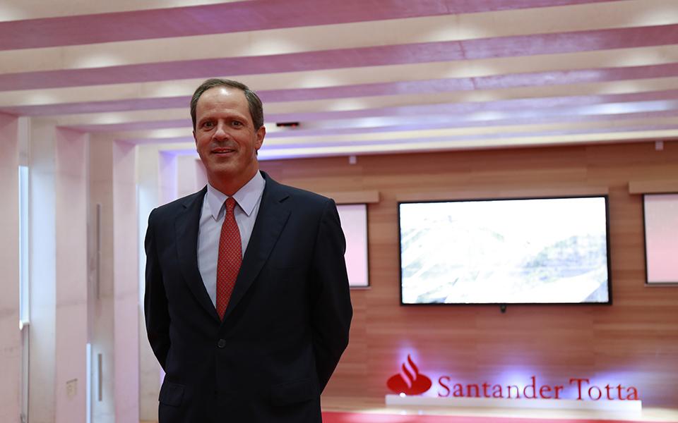 Pedro Castro e Almeida futuro CEO do Santander Totta