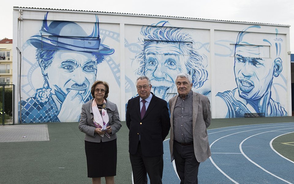 Filipe Pinhal  e Marques dos Santos lançam novo colégio