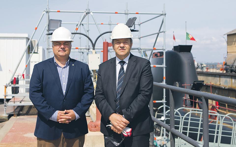 Arsenal do Alfeite  já está a reparar submarinos alemães do Thyssen Krupp
