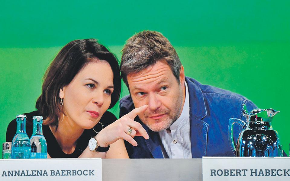 Annalena Baerbock e Robert Habeck - Uma dupla verde para a Alemanha