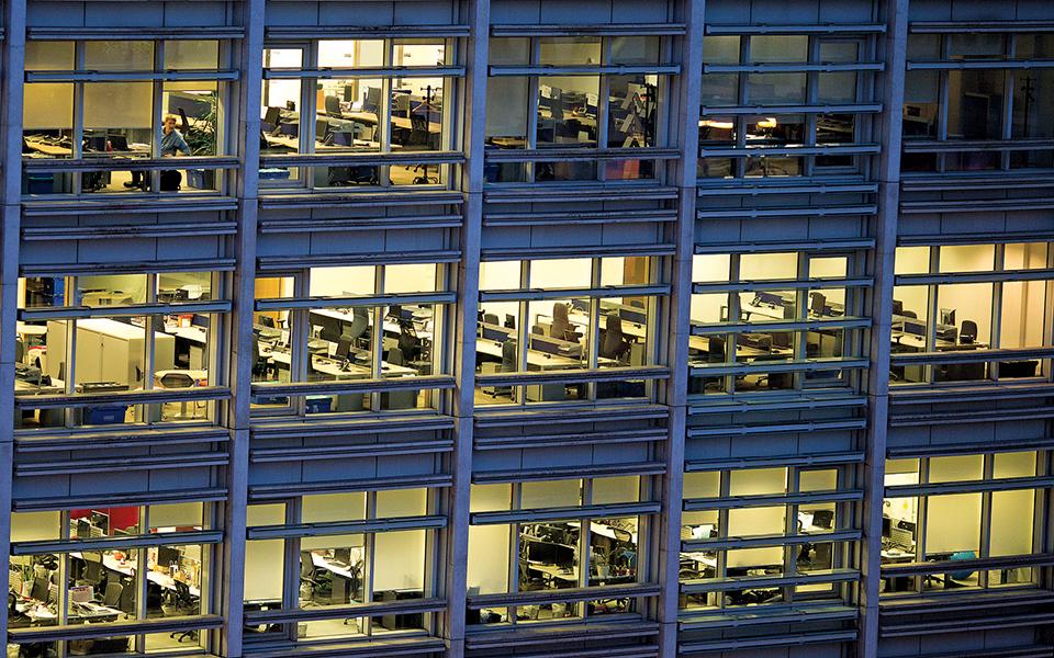 Procura de escritórios atinge valores recorde, mas faltam espaços