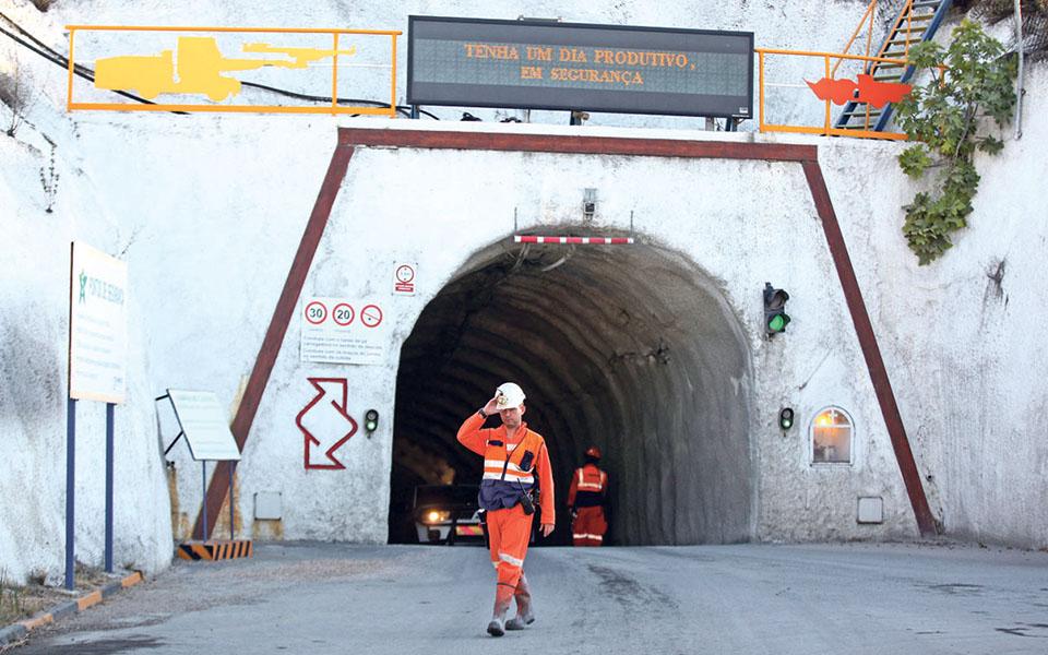 Somincor prevê investir 320 milhões na expansão do zinco em Neves Corvo