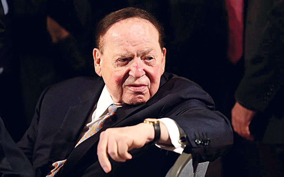 Sheldon Adelson: O dinheiro por trás de Donald Trump