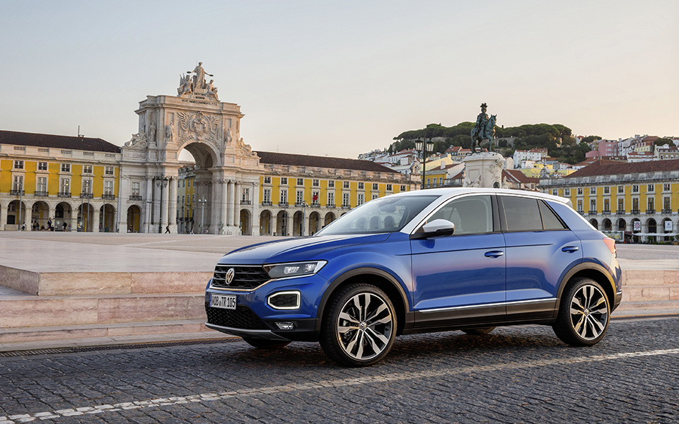 T-Roc já é o quarto modelo mais vendido  da Volkswagen  no mercado português