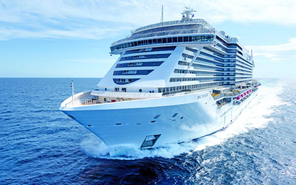 Porto do Funchal regressa ao grande palco dos cruzeiros mundiais com a MSC