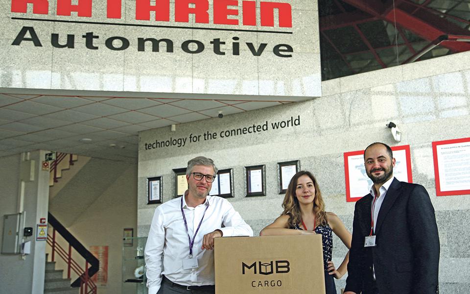 MUB Cargo e Kathrein Automotive querem revolucionar serviço