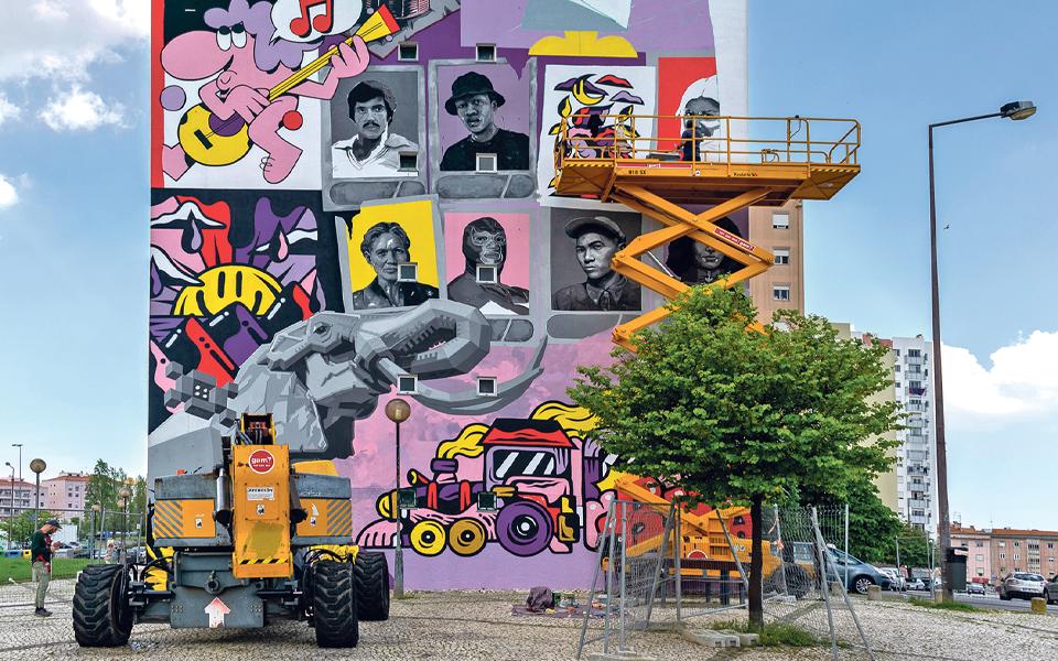 MURO LX_2021: A arte urbana  mostra o seu poder transformador