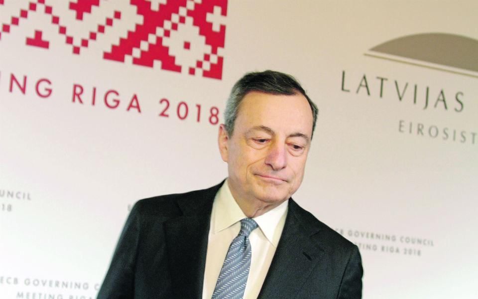 """Mario Draghi: """"Não há uma conspiração"""" contra Itália"""