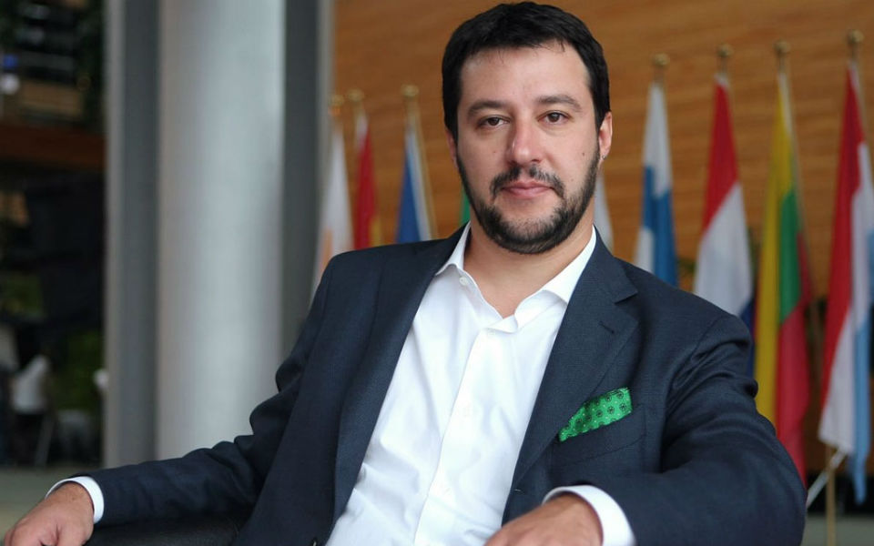 Matteo Salvini: como liderar a Europa  em apenas um mês