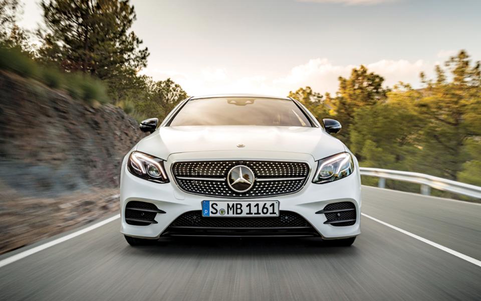 Classe E Coupé da Mercedes. Um excecional quatro lugares