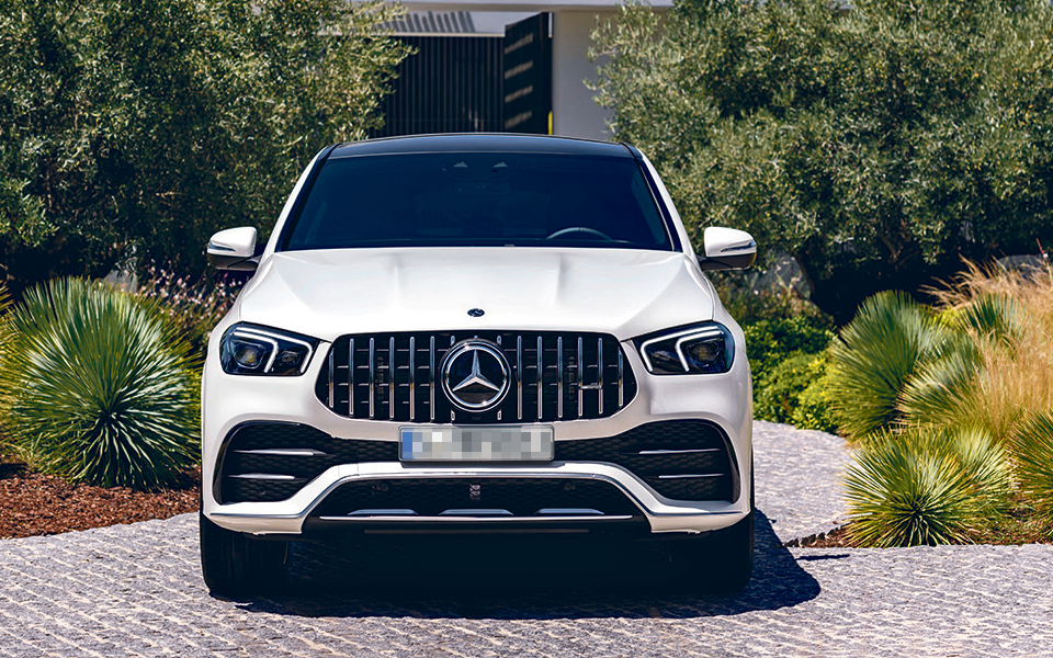 Mercedes GLE Coupé:  Versão desportiva  com eficiência híbrida