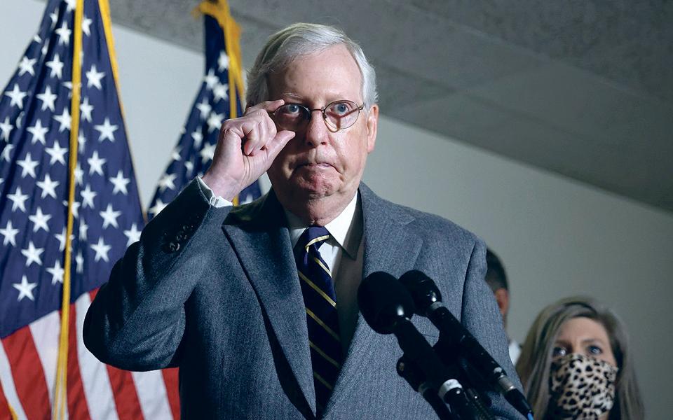 Mitch Mcconnell: O homem que vê Trump responsável, mas não culpado, pelo que aconteceu no Capitólio