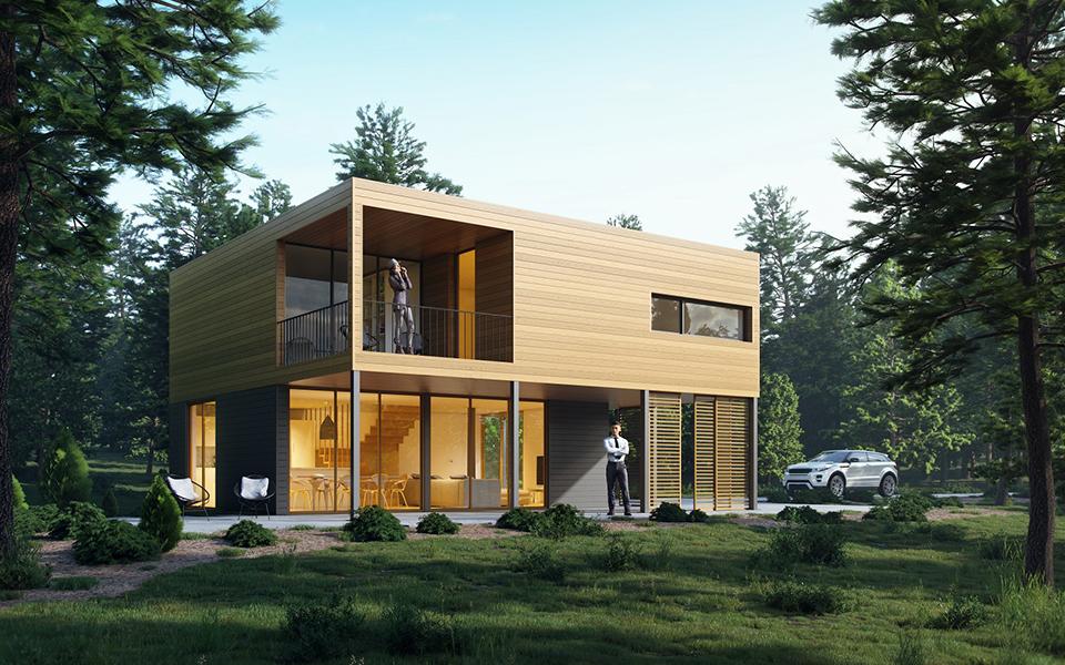 Opti Housing Systems faz casas em 12 semanas