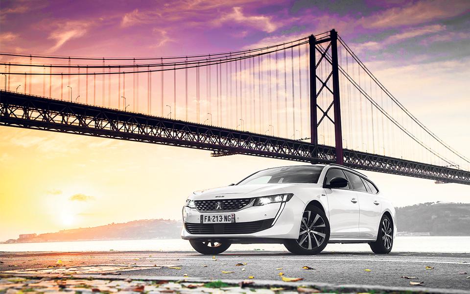Peugeot 508 SW: Grande estética  e grande visual leva leão ao cume