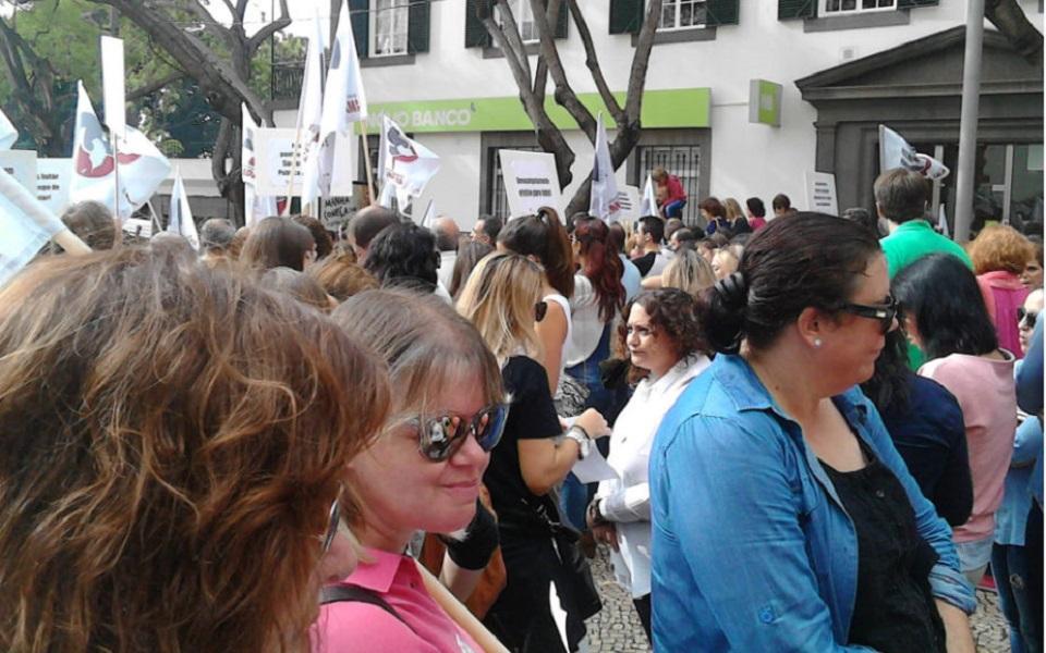 Forças de segurança  e funcionários judiciais juntam-se a reivindicações de professores