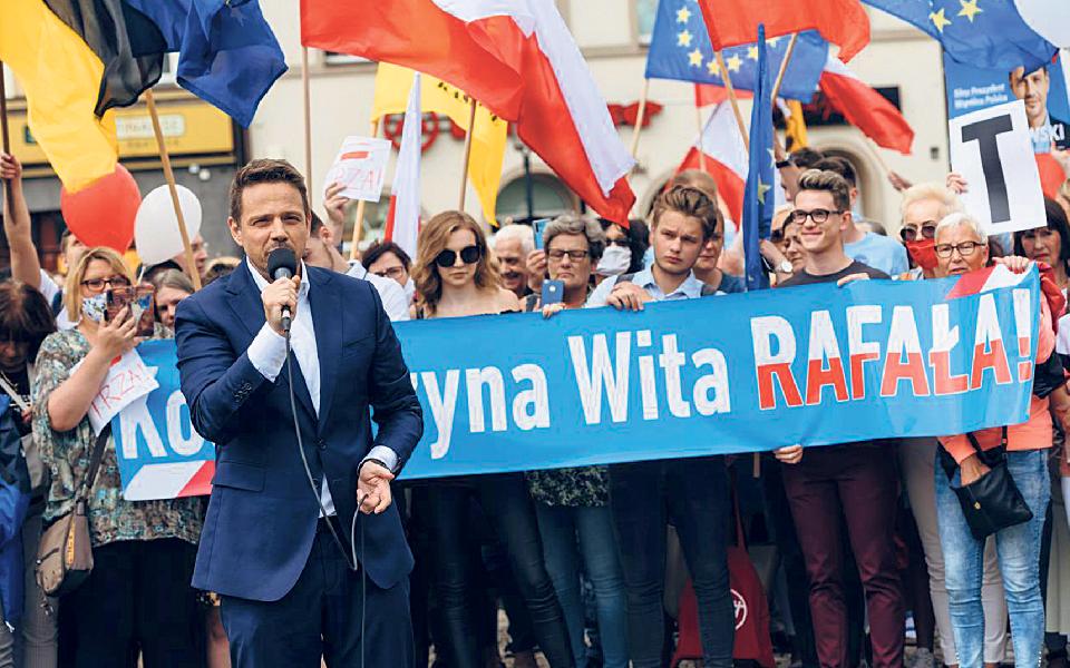 Rafał Trzaskowski: Impacto de Varsóvia pretende deixar a Polónia semLei e Justiça