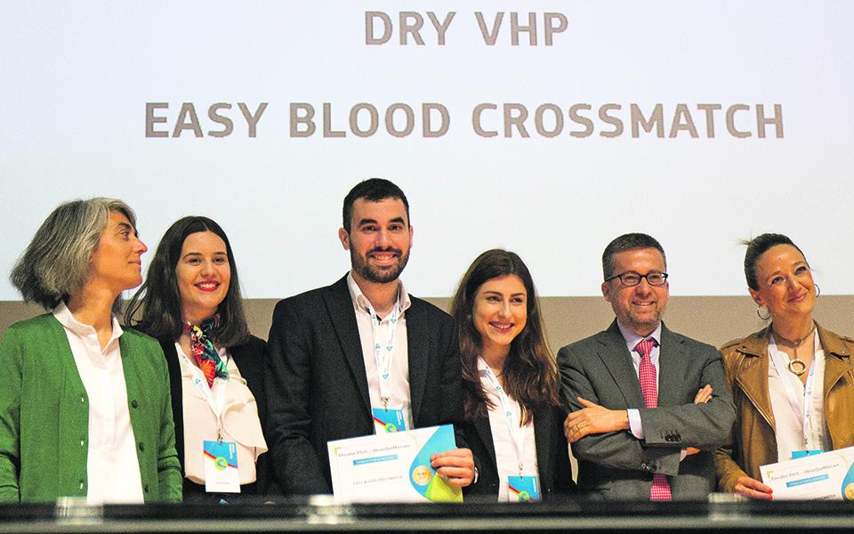 Startup portuguesa cria kit inovador para analisar sangue