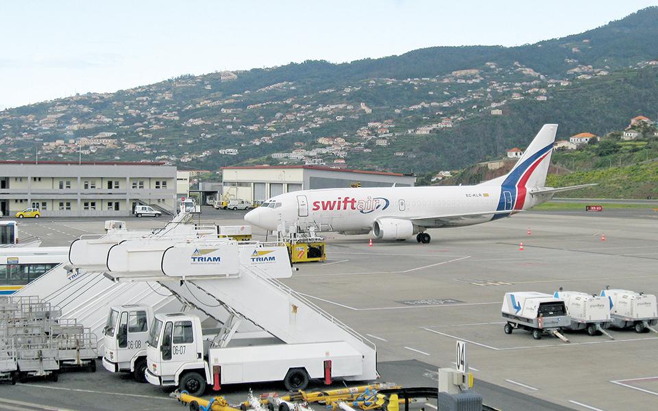 Operação do avião cargueiro na Madeira abaixo das expetativas