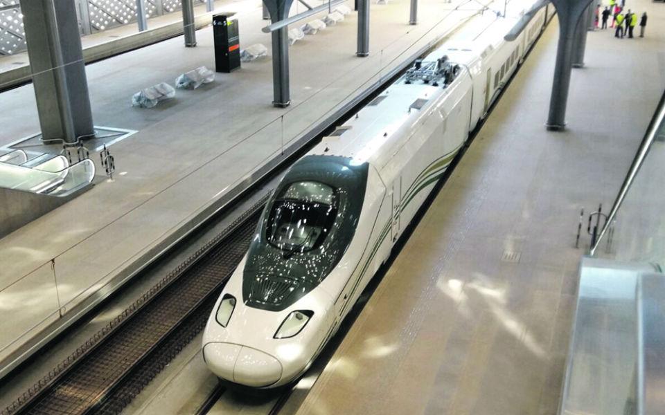 Alta Velocidade: O comboio secreto  do rei saudita para acelerar no deserto
