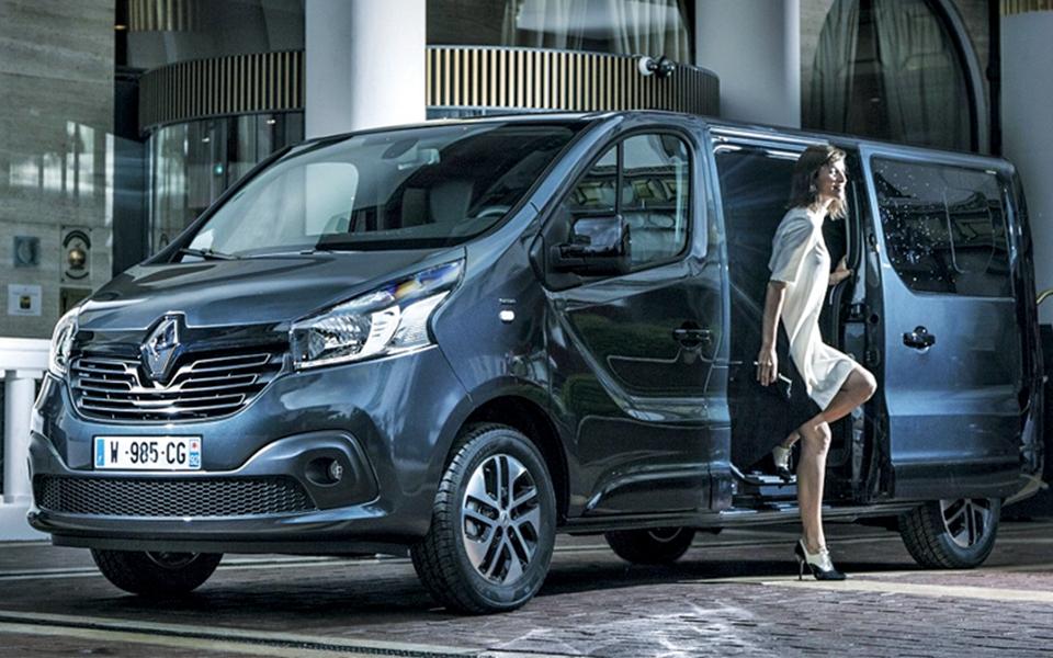 Renault Trafic SpaceClass: A 'navette' para VIP e estrelas